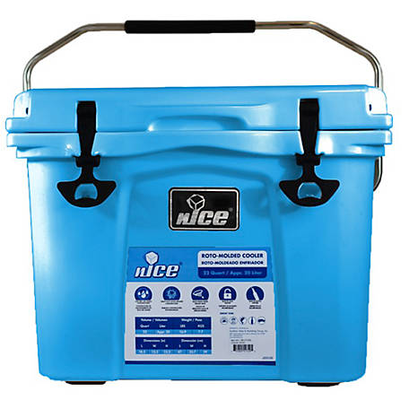 nICE 22Qt Cooler-Light Blue, CBF-510456