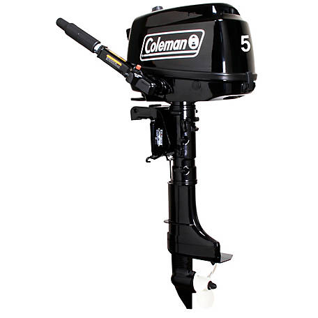 Coleman Outboard 5HP, F5BMS