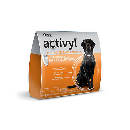 activyl Protector Band Dog Full Season Collar, 21288691