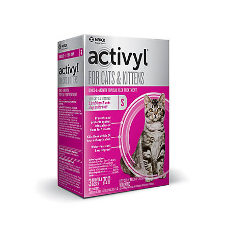 activyl for Cats/Kittens 2-9 lb., 3 Doses, 21288730