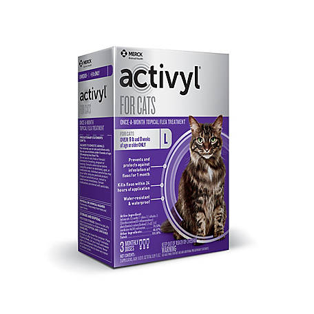 activyl for Cats Over 9 lb., 3 Doses, 21288737