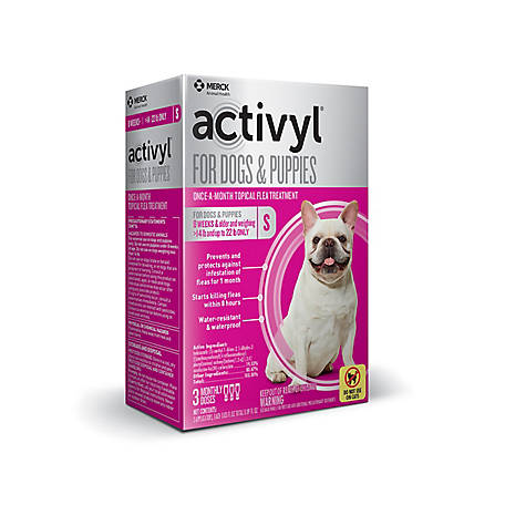 activyl for Small Dogs Puppies 15-22 lb., 3 Doses, 21288738