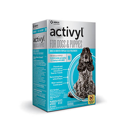 activyl for Medium Dogs 23-44 lb., 3 Doses, 21288739