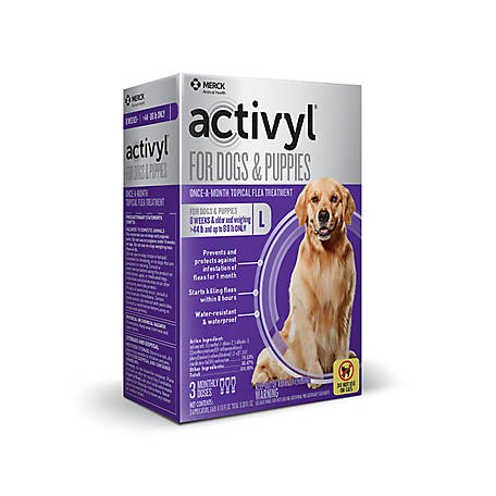 activyl for Large Dogs 45-88 lb., 3 Doses, 21288741