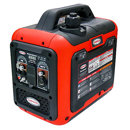 Simpson PowerShot Portable 1800-Watt Inverter Generator, 70011