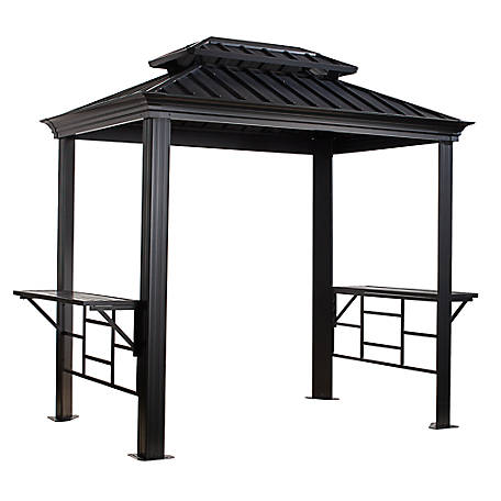 Sojag Bbq Messina Grill Gazebo 6 x 8 ft., 500-9162875
