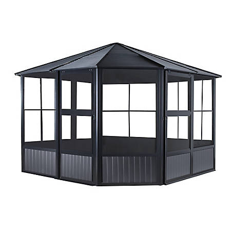 Sojag Charleston Solarium 12 x 12 ft., 442-9162998