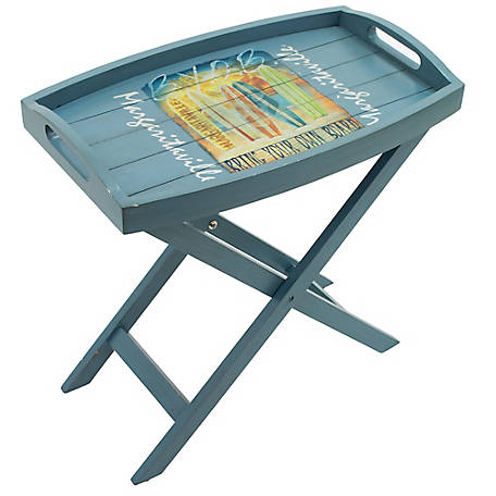 Margaritaville Folding Butler Table, T107MV-1