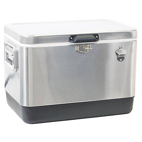 RIO Gear Stainless Steel Cooler 54 Qt., TC54SS-1
