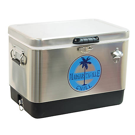 Margaritaville 54 qt. Stainless Steel Cooler, TC54SSMV-200-1