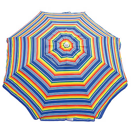 RIO Beach 6 ft. Tilt Beach Umbrella UB79-1909-1