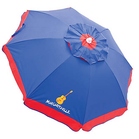 RIO Margaritaville 6 ft. Beach Umbrella With Built-in Sand Anchor UB79MV-506-1