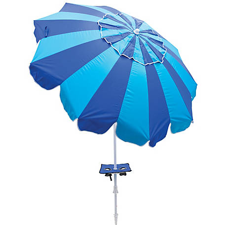 RIO Margaritaville Beach Umbrella 7 ft. with Built-In Sand Anchor UBT723-2019-1
