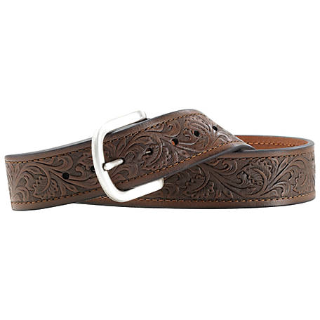 Ariat Western Mens Belt Leather Holden Black A10008931
