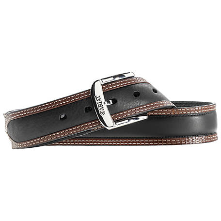 Ariat Men's Diesel Belt, Black/Tan A10005802