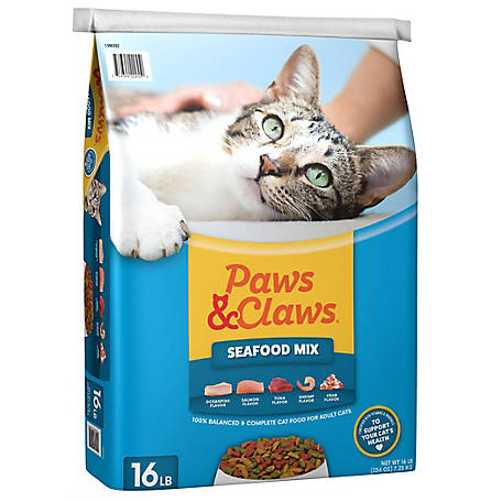 Paws & Claws Seafood Mix, 16 lb.
