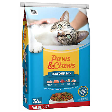 Paws & Claws Seafood Mix, 36 lb.