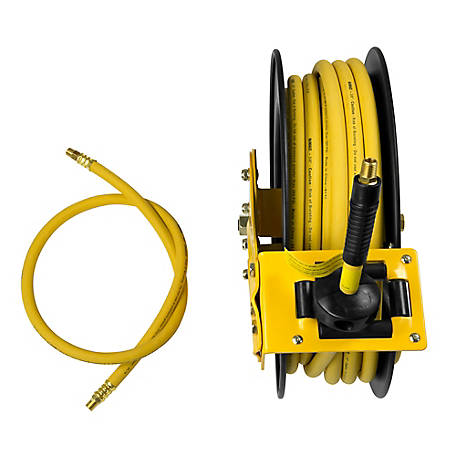DeWALT 3/8 in. x 50 ft. Single Arm Air Hose Reel DXCM024-0374, DXCM024-0374