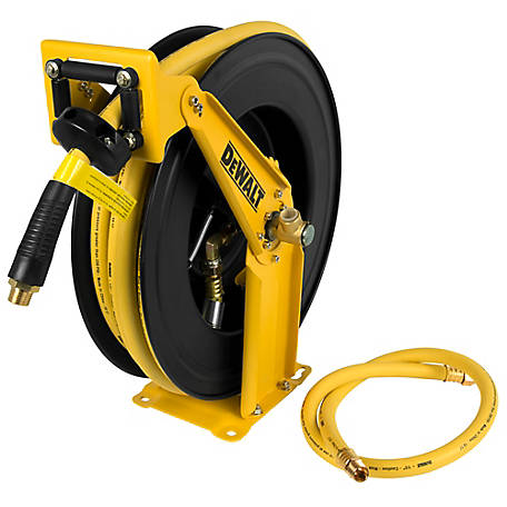 DeWALT 1/2 in. x 50 ft. Double Arm Air Hose Reel DXCM024-0344, DXCM024-0344