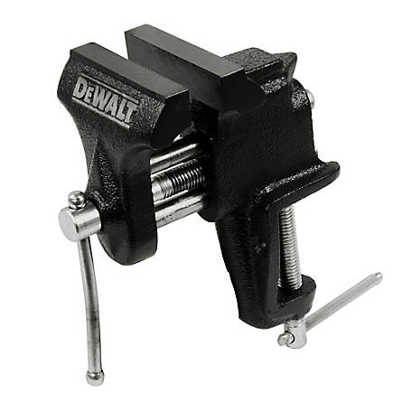 DeWALT 3 in. Clamp-On Bench Vise, DXCMCOV3
