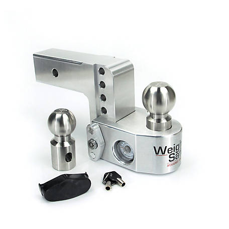 Weigh Safe 4 in. Drop Hitch with 2.5 in. Shank, WS4-2.5