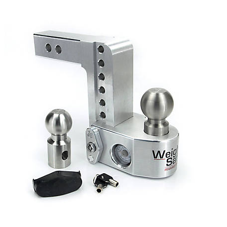 Weigh Safe Weigh Safe 6 in. Drop Hitch with 2 in. Shank, WS6-2, WS6-2