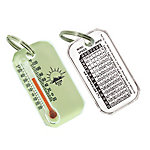 Sun Company LumaZip - Glow-in-The-Dark Zipperpull Thermometer , 402L