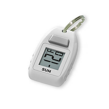Sun Company DigitalZipogage - Digital Thermometer Keychain Zipperpull, 404