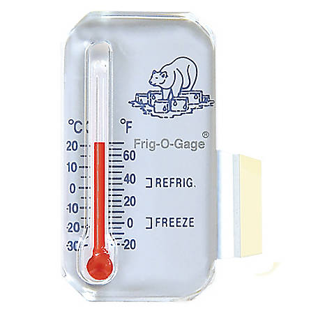 Sun Company Frig-o-gage - Cooler-Refrigerator-Freezer Thermometer, 505