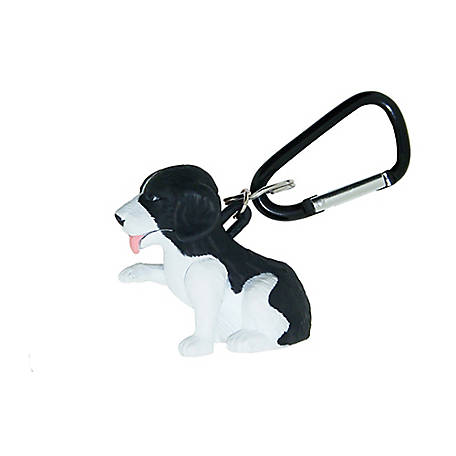 Sun Company Wildlight Animal Carabiner Flashlight - Springer Spaniel, 640-S