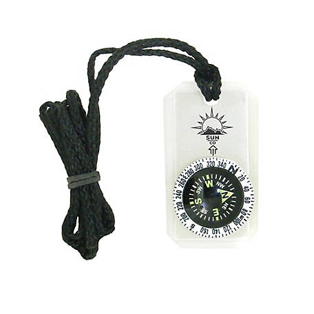 Sun Company MiniComp II - Mini Orienteering Compass with Rotating Bezel, 809
