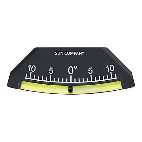 Sun Company Lev-O-Gage 7 Glass Tube Inclinometer, 1111-I