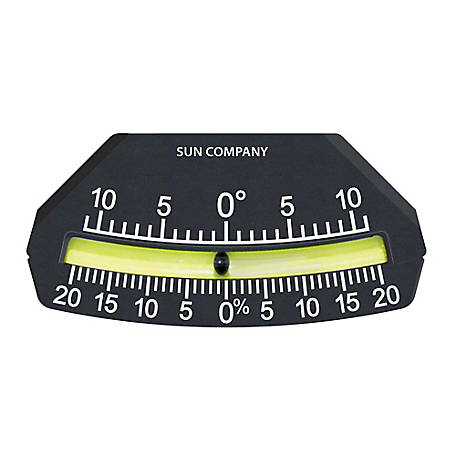 Sun Company Lev-O-Gage 9 Glass Tube Inclinometer, 1112-I