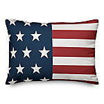 Designs Direct American Flag Throw Pillow, 14 x 20 in.