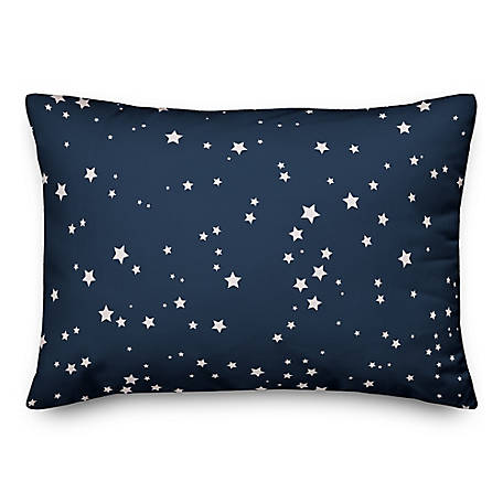 Designs Direct Simple Star Pattern 14 x 20 in. Throw Pillow 5522-L
