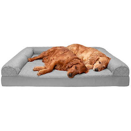 FurHaven Pet Quilted Orthopedic Sofa Dog Bed
