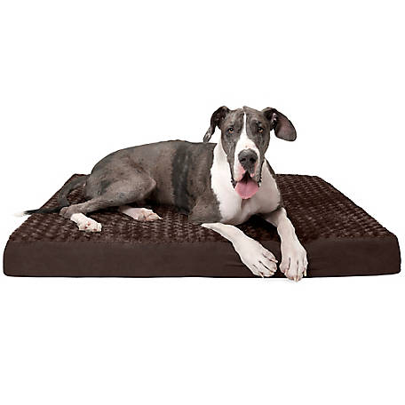 FurHaven Pet Ultra Plush Deluxe Orthopedic Dog Bed