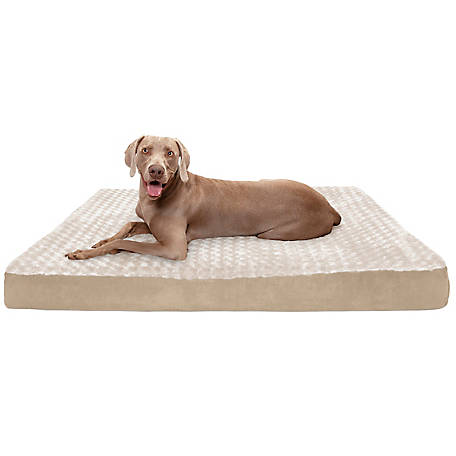 FurHaven Pet Ultra Plush Deluxe Cooling Gel Top Dog Bed