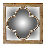 TX USA Corporation Antiqued Natural Finish Mirror 14B0081