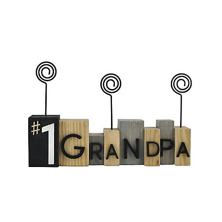 TX USA Corporation No. 1 Grandpa Photo Clip, F02