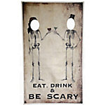 TX USA Corporation Skeleton Toast Photo Banner CANV1006