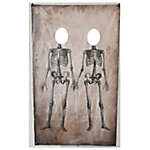 TX USA Corporation Skeletons Photo Banner, CANV1002