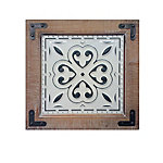 TX USA Corporation Petal 14 in. Wood & Tin Wall Art HH188062B