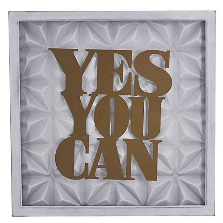 TX USA Corporation Yes You Can Wall Art, TX-F0143