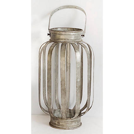 TX USA Corporation Galvanized Banded Lantern, Medium, M21543M