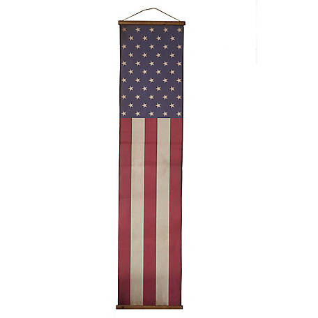 Long American Flag Wall Banner, M21563