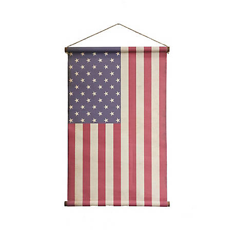TX USA Corporation American Flag Wall Banner, M21564