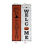 TX USA Corporation Happy Halloween Reversible Porch Sign M21750