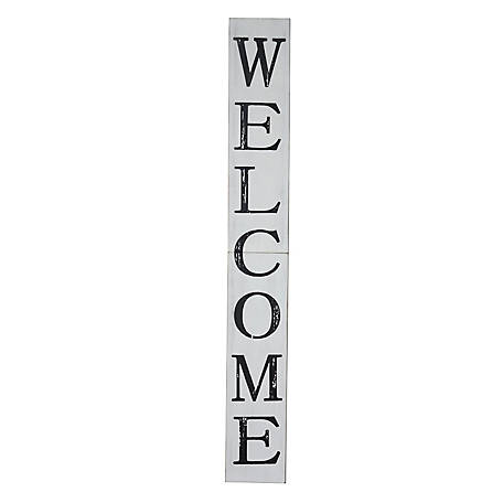 TX USA Corporation Farmhouse Welcome Porch Sign, 72 in., M21762