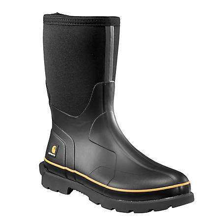 Carhartt Men's 10 in. Waterproof Rubber Boot CMV1121